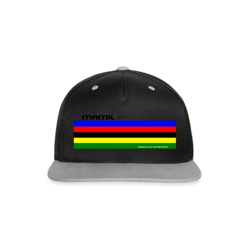 MAMiL My Own World Champion Mouse Mat - Contrast Snapback Cap