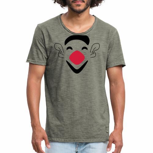 Clown - Männer Vintage T-Shirt