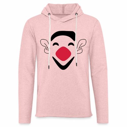 Clown - Leichtes Kapuzensweatshirt Unisex