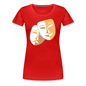 Clown Masken - Frauen Premium T-Shirt