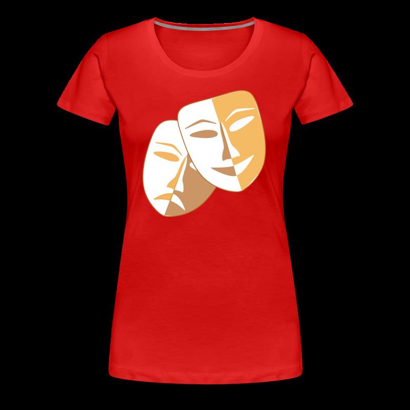 Clown Masken - Frauen Premium T-Shirt