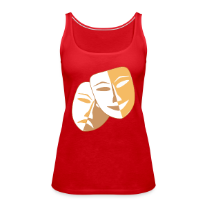 Clown Masken - Frauen Premium Tank Top