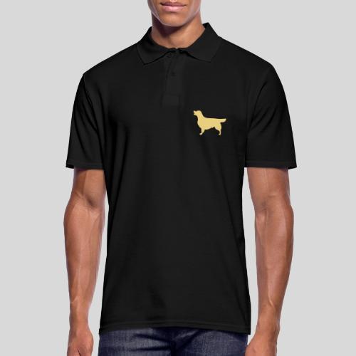 Golden Hündin - Männer Poloshirt