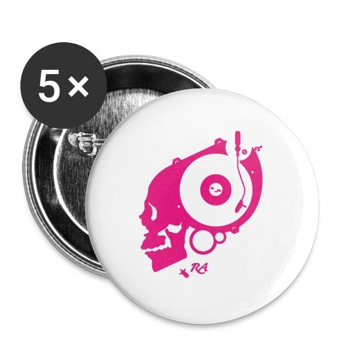 Remember Analog Skull © forbiddenshirts.de - Buttons groß 56 mm