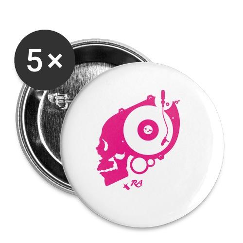 Remember Analog Skull © forbiddenshirts.de - Buttons klein 25 mm
