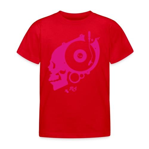 Remember Analog Skull © forbiddenshirts.de - Kinder T-Shirt