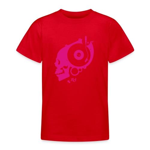 Remember Analog Skull © forbiddenshirts.de - Teenager T-Shirt