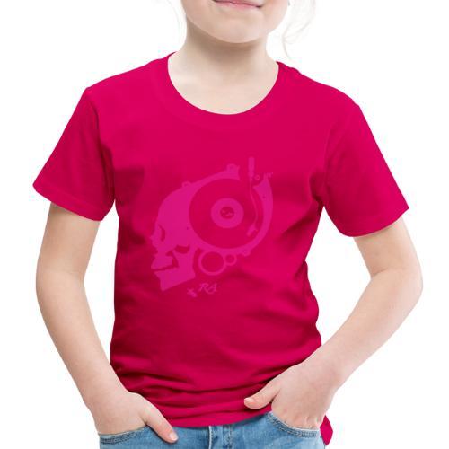 Remember Analog Skull © forbiddenshirts.de - Kinder Premium T-Shirt