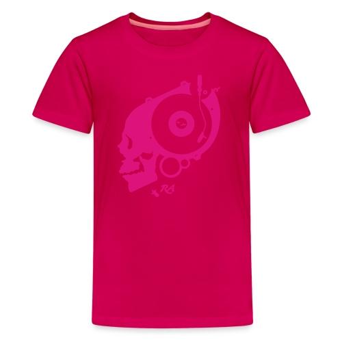 Remember Analog Skull © forbiddenshirts.de - Teenager Premium T-Shirt