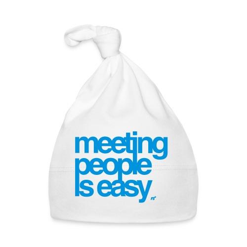 Meeting people is easy © forbiddenshirts.de - Baby Mütze