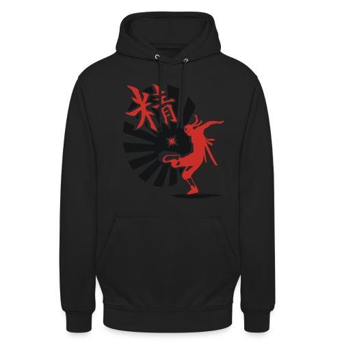 Hack Ninja! – Organic © forbiddenshirts.de - Unisex Hoodie
