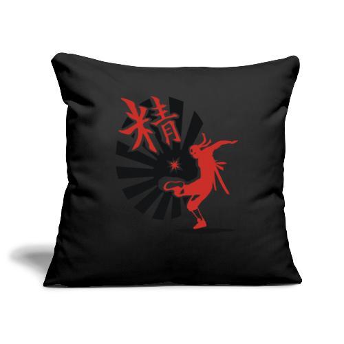 Hack Ninja! – Organic © forbiddenshirts.de - Sofakissenbezug 44 x 44 cm