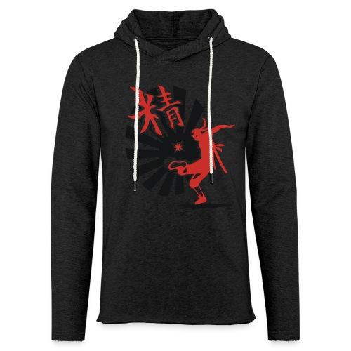 Hack Ninja! – Organic © forbiddenshirts.de - Leichtes Kapuzensweatshirt Unisex