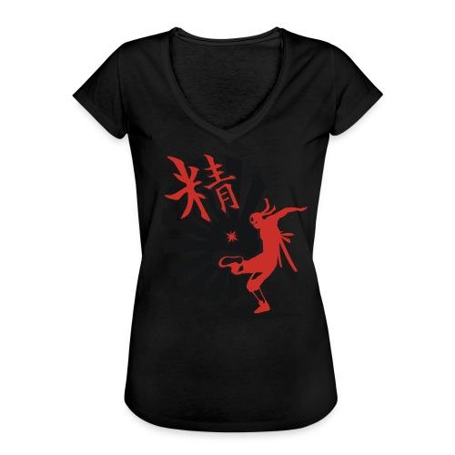 Hack Ninja! – Organic © forbiddenshirts.de - Frauen Vintage T-Shirt