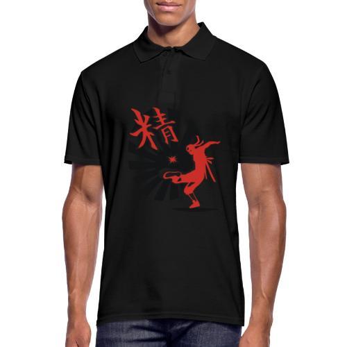Hack Ninja! – Organic © forbiddenshirts.de - Männer Poloshirt