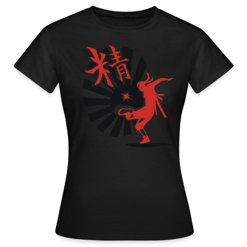 Hack Ninja! – Organic © forbiddenshirts.de - Frauen T-Shirt