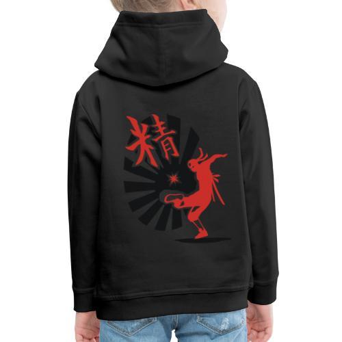 Hack Ninja! – Organic © forbiddenshirts.de - Kinder Premium Hoodie