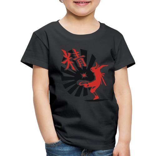 Hack Ninja! – Organic © forbiddenshirts.de - Kinder Premium T-Shirt
