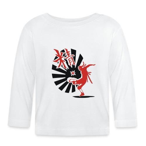 Hack Ninja! – Organic © forbiddenshirts.de - Baby Langarmshirt