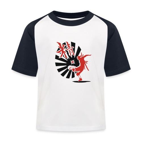 Hack Ninja! – Organic © forbiddenshirts.de - Kinder Baseball T-Shirt
