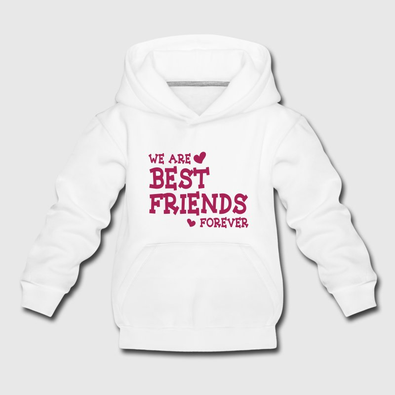 we are best friends forever ii 1c Pullover & Hoodies - Kinder Premium Hoodie