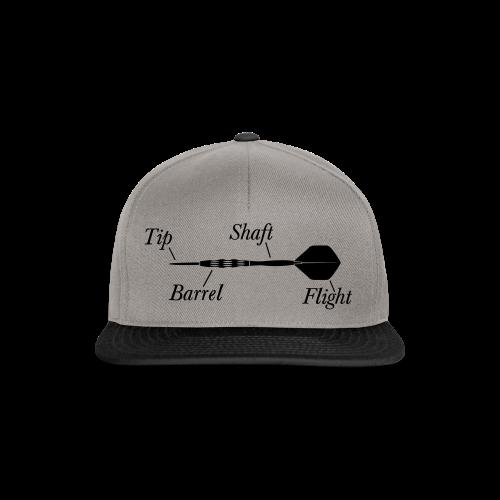 Dartpfeil Beschreibung Shirt - Snapback Cap