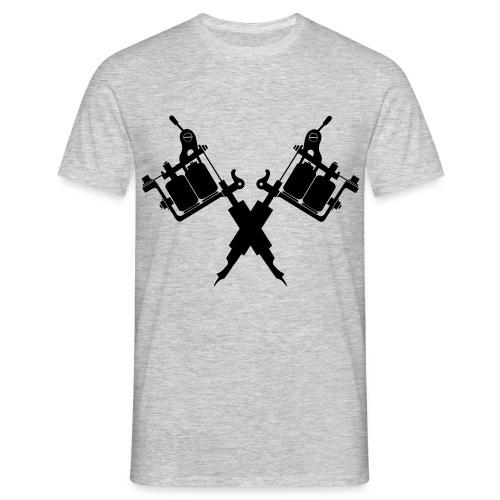 Tattoo School for Winter Noir pailleté - T-shirt Homme