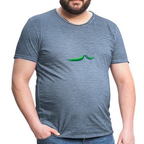 Three Hills - Männer Vintage T-Shirt