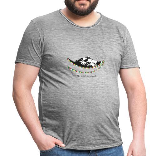 Mount Everest - Männer Vintage T-Shirt