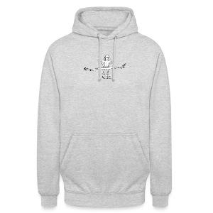 Kletterer im Spagat T-Shirts - Unisex Hoodie