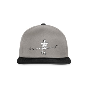 Kletterer im Spagat T-Shirts - Snapback Cap