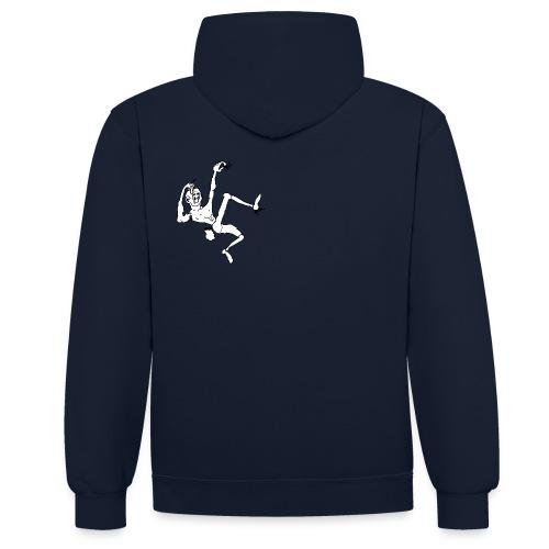 Think-Climbing T-Shirts - Kontrast-Hoodie