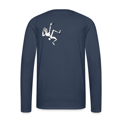 Think-Climbing T-Shirts - Männer Premium Langarmshirt