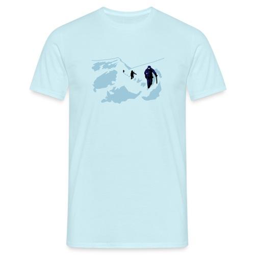 Bergsteigen - Männer T-Shirt