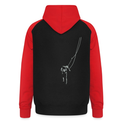 Traditionelles Klettern - Unisex Baseball Hoodie