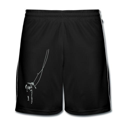 Traditionelles Klettern - Männer Fußball-Shorts