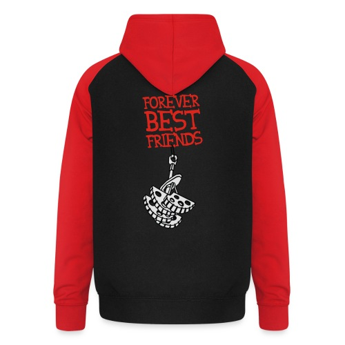 Forever Best Friends - Unisex Baseball Hoodie
