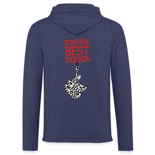 Forever Best Friends - Leichtes Kapuzensweatshirt Unisex