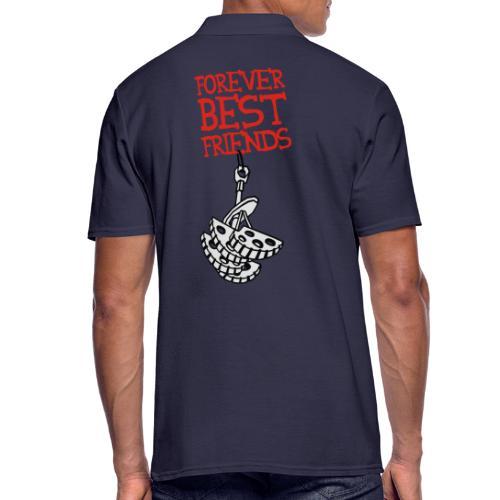 Forever Best Friends - Männer Poloshirt