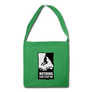 Freikletterer - Schultertasche aus Recycling-Material