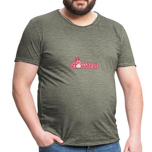 Boulderflamme - Männer Vintage T-Shirt