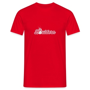 Boulderflamme - Männer T-Shirt