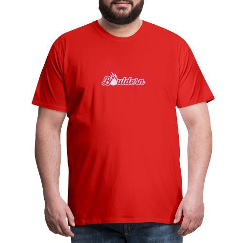Boulderflamme - Männer Premium T-Shirt
