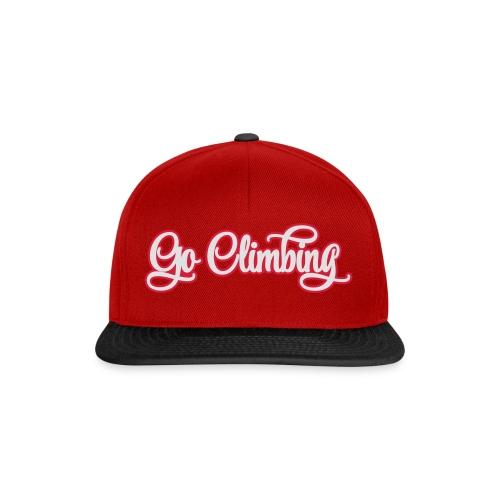 go climbing - Snapback Cap