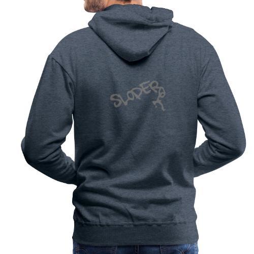Sloper Boulderer - Männer Premium Hoodie