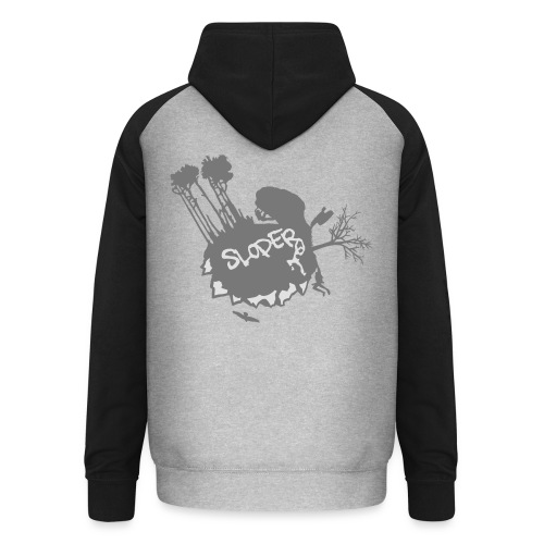 World of Sloper - Unisex Baseball Hoodie
