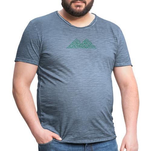 Klettern Logo - Männer Vintage T-Shirt