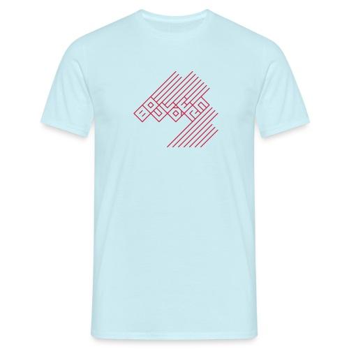Bouldern Logo - Männer T-Shirt