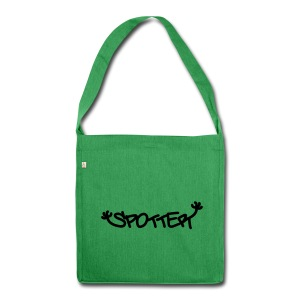 Spotter - Schultertasche aus Recycling-Material