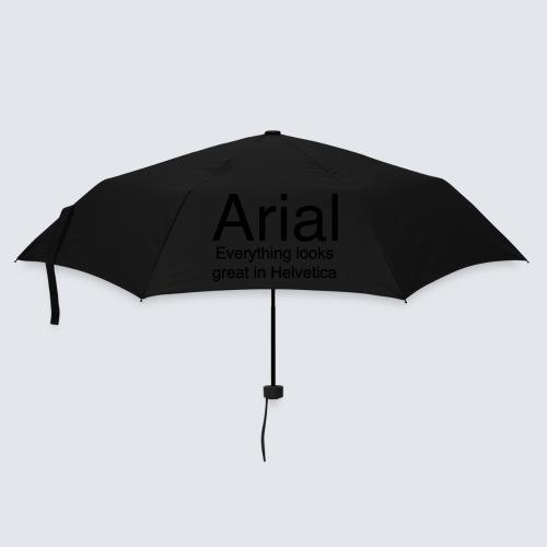 arial helvetica - Regenschirm (klein)